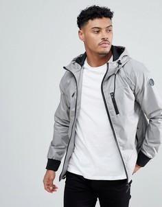 Куртка на молнии Blend - Серый