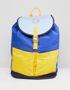 Рюкзак в стиле колор блок Jack Wills - Синий