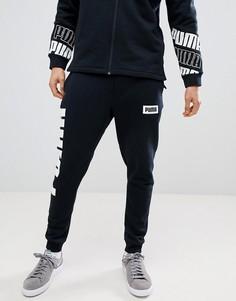 Черные джоггеры Puma Rebel 85009201 - Черный