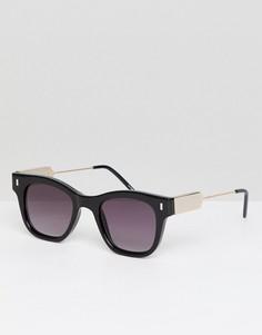Черные квадратные солнцезащитные очки Spitfire - Черный