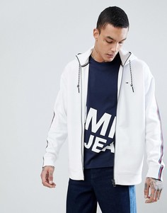 Худи на молнии Tommy Jeans Capsule Icon - Белый