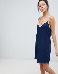 Платье-комбинация Tommy Hilfiger - Темно-синий