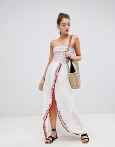 Пляжное платье макси River Island - Белый