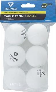 Мячи для настольного тенниса Torneo, 6 шт