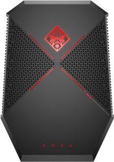 Компьютер HP OMEN P1000-001ur, Intel Core i7 7820HK, DDR4 16Гб, 512Гб(SSD), NVIDIA GeForce GTX 1080 - 8192 Мб, Windows 10, черный [2bx21ea]