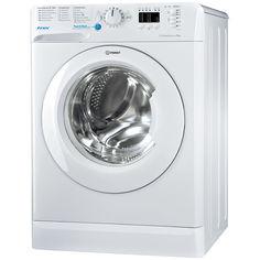 Стиральная машина INDESIT BWSA 61051, фронтальная загрузка, белый