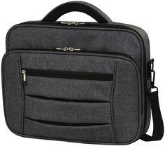 """Сумка для ноутбука HAMA Business 15.6"""" полиэстер темно-серый [00101576]"""