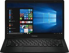 "Ноутбук PRESTIGIO SmartBook 116C, 11.6"", Intel Atom X5 Z8350 1.44ГГц, 2Гб, 32Гб SSD, Intel HD Graphics 400, Windows 10 Home, PSB116C01BFH_BK_CIS, черный"