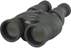 Бинокль CANON Binocular IS III, 12 x 36, Porro, черный [9526b005]