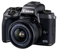 Фотоаппарат CANON EOS M5 kit ( 15-45 IS STM f/ 3.5-6.3), черный [1279c012]