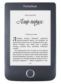 """Электронная книга POCKETBOOK 614 Plus, 6"""", черный"""