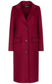 Бордовое пальто La Reine Blanche