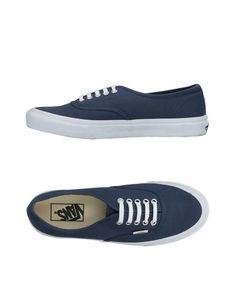Женские низкие кеды и кроссовки Vans