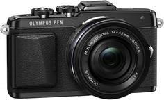 Фотоаппарат со сменной оптикой Olympus Pen E-PL7 Kit 14-42 EZ (черный)