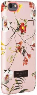 Клип-кейс Ted Baker SIMETO Botanical Bloom для Apple iPhone 6/6S (розовый с рисунком)