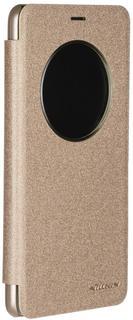 Чехол-книжка Nillkin Sparkle для Meizu M5 Note (золотистый)