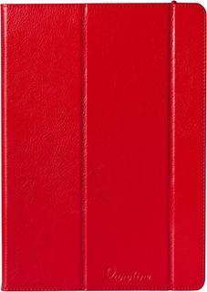 """Чехол-книжка Euro-Line Vivid для планшетов 10"""" крючки (красный)"""