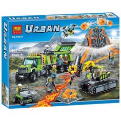 Конструктор Bela Urban База исследователей вулканов 860 дет. 10641