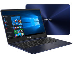 Ноутбук ASUS Zenbook UX430UN-GV022R 90NB0GH5-M02550 (Intel Core i5-8250U 1.6 GHz/8192Mb/512Gb SSD/No ODD/nVidia GeForce MX150 2048Mb/Wi-Fi/Bluetooth/Cam/14.0/1920x1080/Windows 10 64-bit)