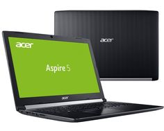 Ноутбук Acer Aspire A517-51G-810T NX.GSXER.006 (Intel Core i7-8550U 1.8 GHz/12288Mb/1000Gb + 128Gb SSD/nVidia GeForce MX150 2048Mb/Wi-Fi/Cam/17.3/1920x1080/Windows 10 64-bit)