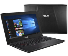 Ноутбук ASUS FX502VM-FY248T 90NB0DR5-M04730 (Intel Core i7-7700HQ 2.8 GHz/8192Mb/1000Gb + 128Gb SSD/nVidia GeForce GTX 1060 3072Mb/Wi-Fi/Bluetooth/Cam/15.6/1920x1080/Windows 10 64-bit)
