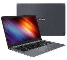 Ноутбук ASUS S510UN-BQ193 90NB0GS5-M02700 (Intel Core i3-7100U 2.4 GHz/6144Mb/1000Gb/nVidia GeForce MX150 2048Mb/Wi-Fi/Bluetooth/Cam/15.6/1920x1080/Endless)