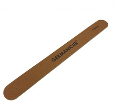 Пилка-наждак Germanicure GM-1806-WOOD (150/220) Brown 37375/0