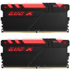 Модуль памяти GeIL EVO X DDR4 DIMM 3000MHz PC4-24000 CL16 - 16Gb KIT (2x8Gb) GEXB416GB3000C15ADC