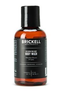 Гель для душа с ароматом мяты, 59 ml Brickell