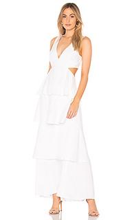 Платье с вырезами - Bardot