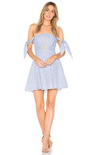 Платье в полоску - Bardot
