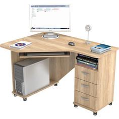 Стол компьютерный ВасКо КС 20-27 М1 - дуб сонома
