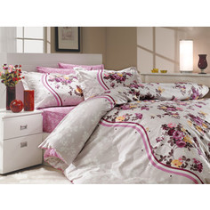 Комплект постельного белья Hobby home collection 2-х сп, поплин, Susana, лиловый (1501000702)