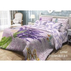 Комплект постельного белья Волшебная ночь 2-х сп, ранфорс, Letter с наволочками 70x70 (703887)