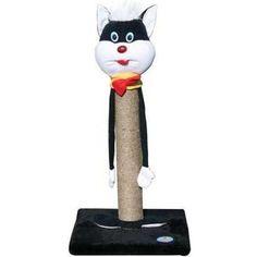 Когтеточка Зооник на подставке КОШКА для кошек 340 х 340 х 650см (22330 )