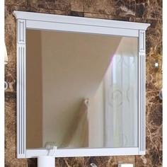 Зеркало Timo Аура белый с серебром (Au.z - 80 M (B-S))