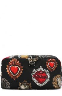 Несессер на молнии с принтом Dolce & Gabbana