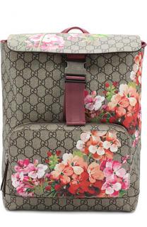 Рюкзак Blooms GG Supreme с клапаном Gucci