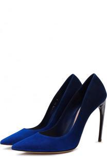 Замшевые туфли на шпильке Alexander McQueen
