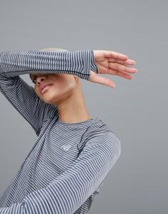 Лонгслив в полоску New Balance Running - Мульти