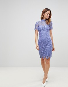 Кружевное платье Paper Dolls - Синий