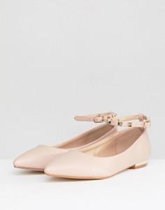 Туфли с заклепками RAID Beryl - Бежевый