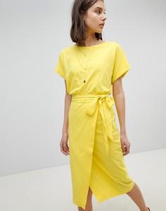 Трикотажное платье BA&SH - Желтый Ba&;Sh