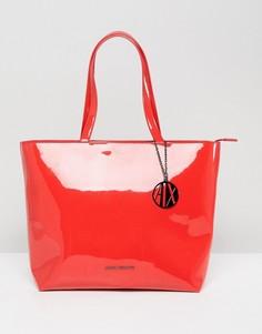 Красная сумка-тоут Armani Exchange - Красный