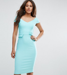 Платье-футляр миди с карманами Vesper Tall - Зеленый