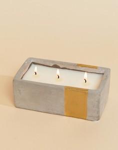 Свеча с ароматом амбры и дыма Paddywax Urban - 8 унц - Мульти
