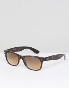 Солнцезащитные очки-вайфареры Ray-Ban 0RB2132 - Коричневый