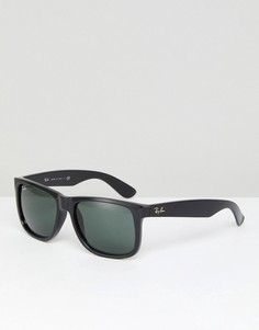 Солнцезащитные очки-вайфареры Ray-Ban 0RB4165 - Черный