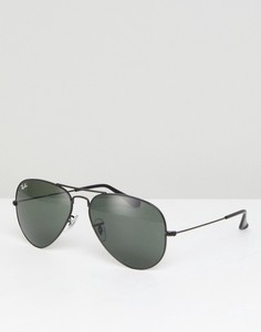 Солнцезащитные очки-авиаторы Ray-Ban 0RB3025 - Черный
