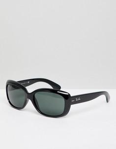 Большие солнцезащитные очки Ray-Ban Jackie Ohh 0RB4101 - Черный